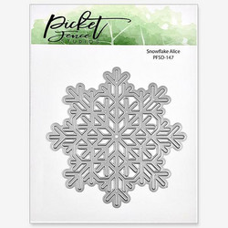 Picket Fence stanssi Snowflake Alice