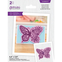 Gemini stanssi Floral Butterfly