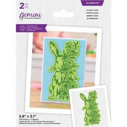 Gemini stanssi Floral Hare