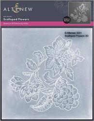 Altenew 3D kohokuviointikansio Scalloped Flowers