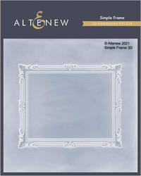 Altenew 3D kohokuviointikansio Simple Frame
