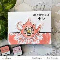 Altenew Tea for Two -stanssi
