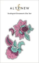 Altenew Scalloped Ornaments -stanssi