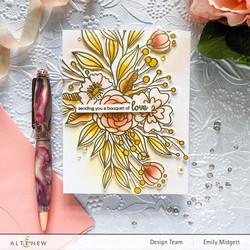 Altenew Bouquet of Love -stanssi