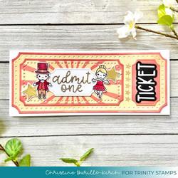 Trinity Stamps leimasin Le Cirque