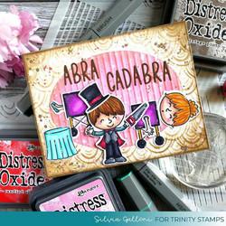 Trinity Stamps stanssi Abracadabra
