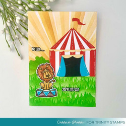 Trinity Stamps stanssi Build A Big Top
