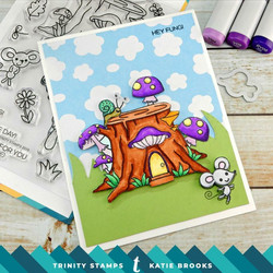 Trinity Stamps leimasin Mouse House