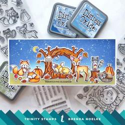 Trinity Stamps leimasin Sleepy Hollow