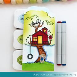 Trinity Stamps leimasin Treetop Adventures