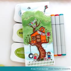 Trinity Stamps stanssi Treetop Adventures