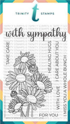 Trinity Stamps leimasin With Sympathy