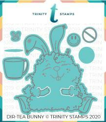 Trinity Stamps stanssi Dir-TEA Bunny