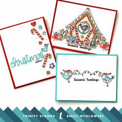 Trinity Stamps leimasin Gingerbird House