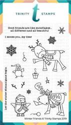 Trinity Stamps leimasin Winter Friends