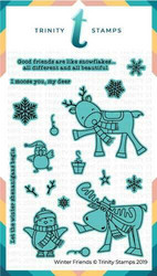 Trinity Stamps stanssi Winter Friends