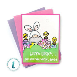 Trinity Stamps leimasin Gnome Bunny