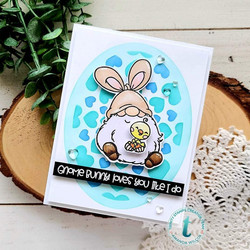 Trinity Stamps stanssi Gnome Bunny