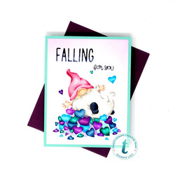 Trinity Stamps leimasin Falling For You