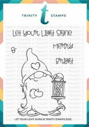 Trinity Stamps leimasin Let your Light Shine