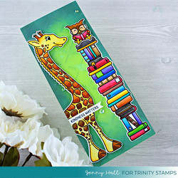 Trinity Stamps leimasin Tall Tales