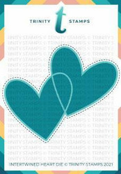 Trinity Stamps stanssi Intertwined Heart