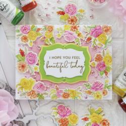 Pinkfresh Studio leimasinsetti Joyful Bouquet