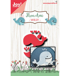Joy! crafts Whale Willy -stanssi