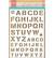 Marianne Design sapluuna Army Alfabet