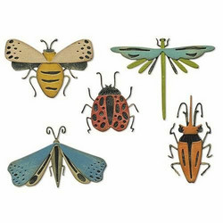 Sizzix Tim Holtz Thinlits stanssisetti Funky Insects