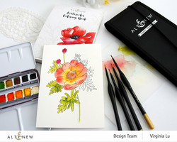 Altenew Artists' Watercolor Brushes -siveltimet