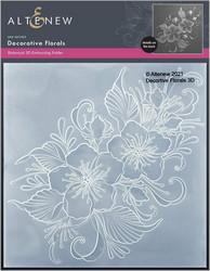 Altenew 3D kohokuviointikansio Decorative Florals