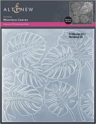 Altenew 3D kohokuviointikansio Monstera Leaves