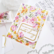 Pinkfresh Studio washi-teippi Painted Peony