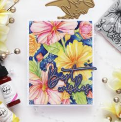 Pinkfresh Studio sapluunasetti Floral Focus, A2