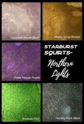Lindy's Stamp Gang Starburst Squirts, Northern Lights