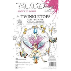 Pink Ink Designs leimasinsetti Twinkletoes