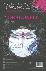 Pink Ink Designs leimasinsetti Dragonfly