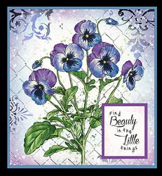 Studio Light leimasin Jenine's Mindful Art Violets