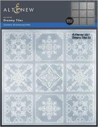 Altenew 3D kohokuviointikansio Dreamy Tiles