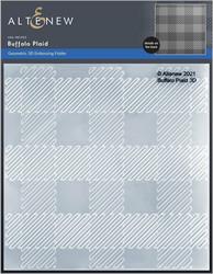 Altenew 3D kohokuviointikansio Buffalo Plaid