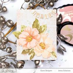 Altenew Greenwood Flowers -sapluuna