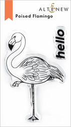 Altenew Poised Flamingo -leimasinsetti