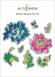 Altenew Majestic Bouquet -stanssi