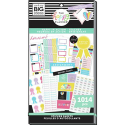 Mambi Happy Planner Value Pack -tarrapakkaus Happy In Action