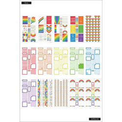 Mambi Happy Planner Value Pack -tarrapakkaus Pride