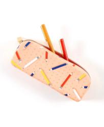 Mambi Silicone Zip Pen Pouch -penaali, Fresh Start