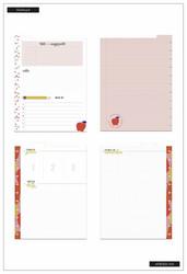 Happy Planner Big Dry Erase Dashboard -sivut, Fresh Start