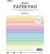Studio Light paperikko Pastels, A5