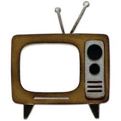 Sizzix Bigz stanssi Retro TV